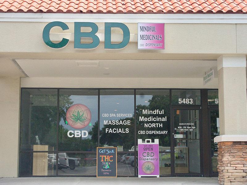 Mindful Medicinals Sarasota Inside store
