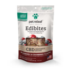 Pet Relief Edibles: Blueberry Cranberry (Immunity Boost) - Mindful Medicinal Sarasota CBD