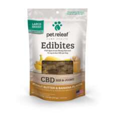 Pet Releaf Edibites: Peanut Butter & Banana (Hip & Joint) - Mindful Medicinal Sarasota CBD