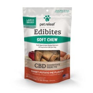 Pet Releaf Edibites: Sweet Potato Pie (Digestive Health) - Mindful Medicinal Sarasota CBD