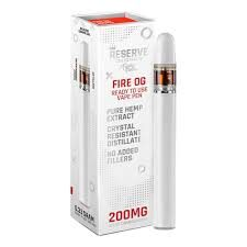 Funky Farm's Reserve CBD Vape Pens: Fire OG (200mg) - Mindful Medicinal Sarasota CBD