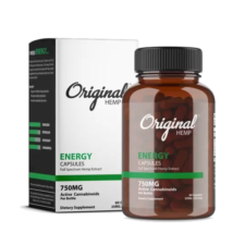 Original Hemp's Sleep Capsules | Full Spectrum Hemp Extract (750mg) - Mindful Medicinal Sarasota CBD