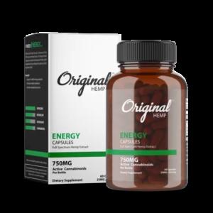 Original Hemp's Sleep Capsules   Full Spectrum Hemp Extract (750mg) - Mindful Medicinal Sarasota CBD